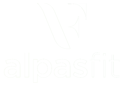 AlpasFit Logo White